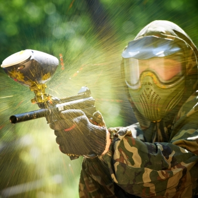 Paintball package for big groups