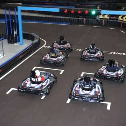 Electric Kart Racing