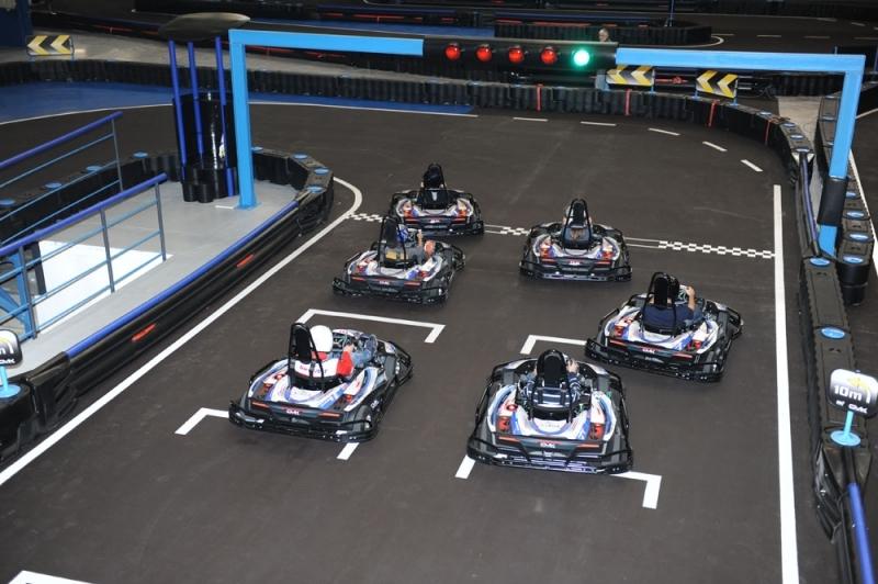 Electric Kart Racing