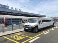 Hummer Airport Pick up with Strip